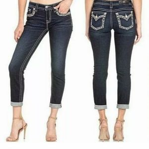 Miss Me Hailey Mid Rise Stretch Skinny Ankle Jeans